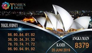 Prediksi Togel Angka Sidney Kamis 20 Juni 2019