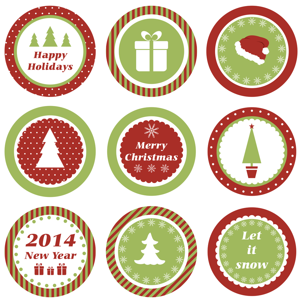 Free Christmas Label Printables Baby Shower Ideas