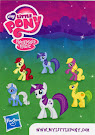 MLP Wave 6 Twilight Velvet Blind Bag Card