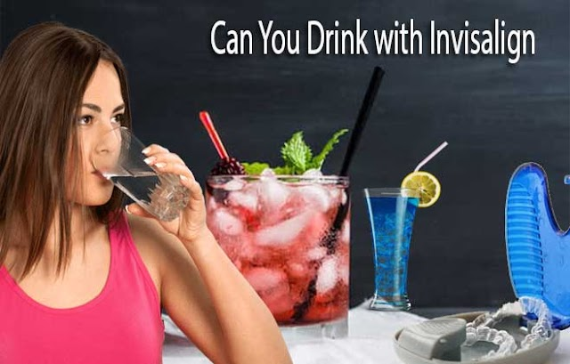 Can You Drink with Invisalign