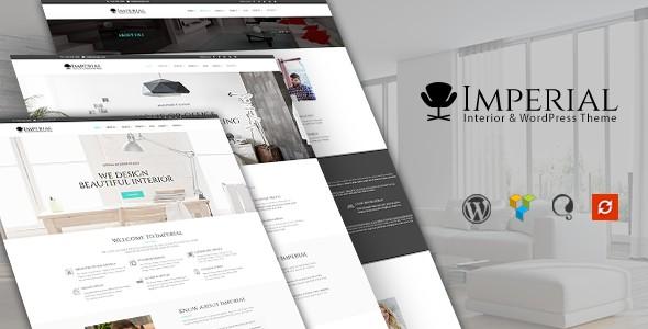 Imperial Interior Responsive WordPress Themes