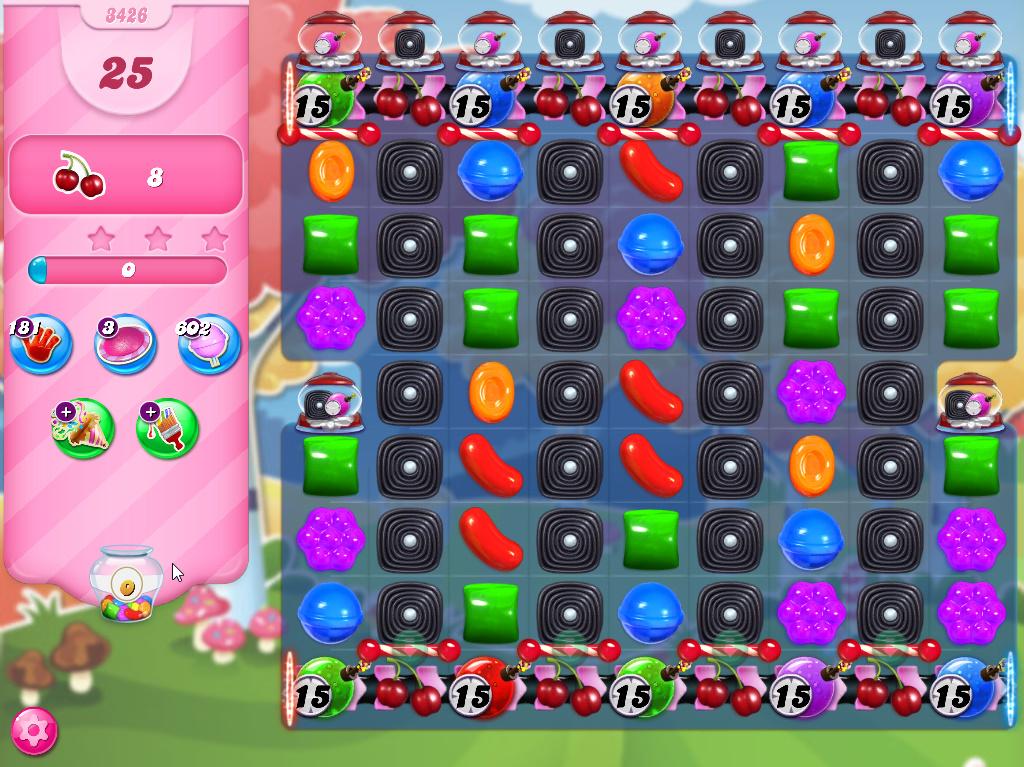 Candy Crush Saga level 3426