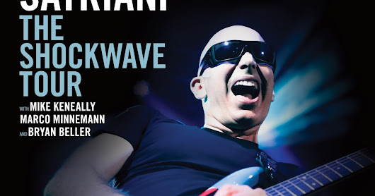 Riff On Stage: LIVE REPORT DE JOE SATRIANI AU SILO (MARSEILLE LE 21/09/15)