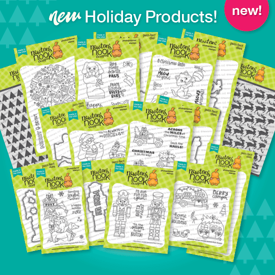New 2020 Holiday Products by Newton's Nook Designs