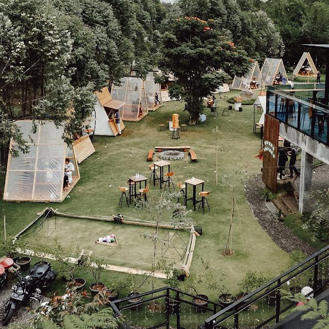 Ruang Lapang Cafe Green Forest Bandung - Menu, Harga Tiket dan Lokasi