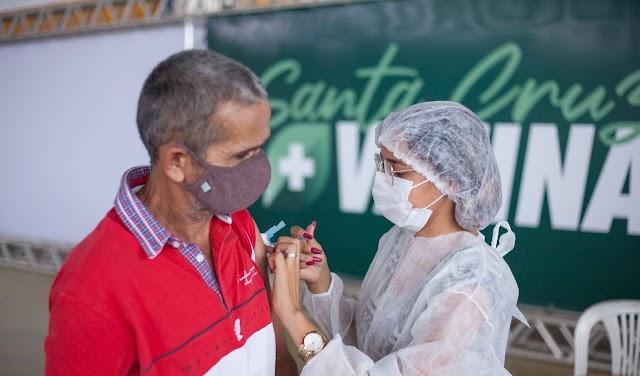 Santa Cruz realizará mutirão de aplicação da 2ª dose da vacina Astrazeneca