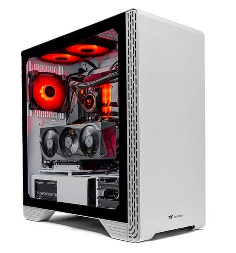 Thermaltake LCGS Glacier 370 AIO Liquid Cooled Gaming PC