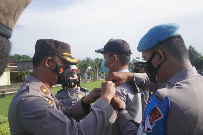 Polres Lampung Timur Mulai Menggelar Operasi Keselamatan Krakatau 2021