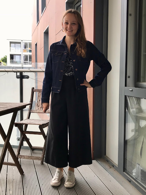 Diary of a Chain Stitcher: Denim and Copper Alina Sewing & Design Co Hampton Jean Jacket