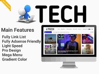 tech blogger template
