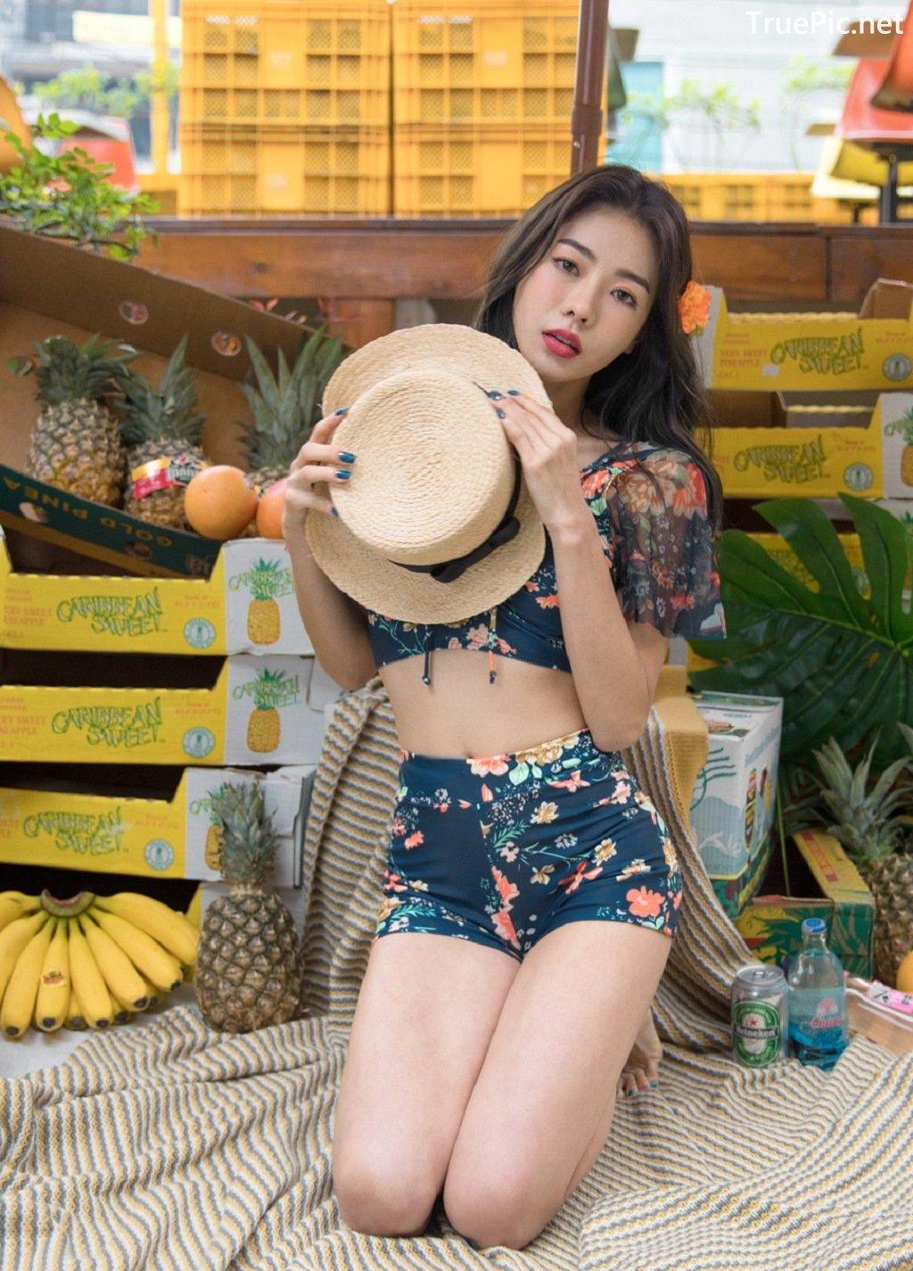 Image-An-Seo-Rin-Flower-and-Butterfly-Bikini-Korean-Model-Fashion-TruePic.net- Picture-4