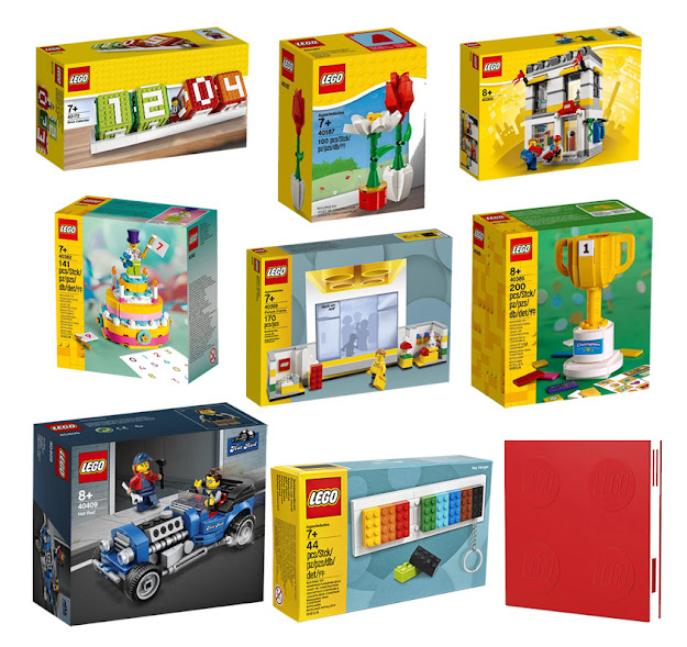 【レゴ】レゴ®オンライン限定 アイコニックハッピーバッグB 8+1