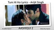 Tum Hi Ho Lyrics - Arijit Singh