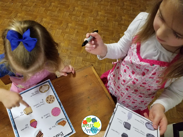 Bakery Dramatic Play Center | Apples to Applique