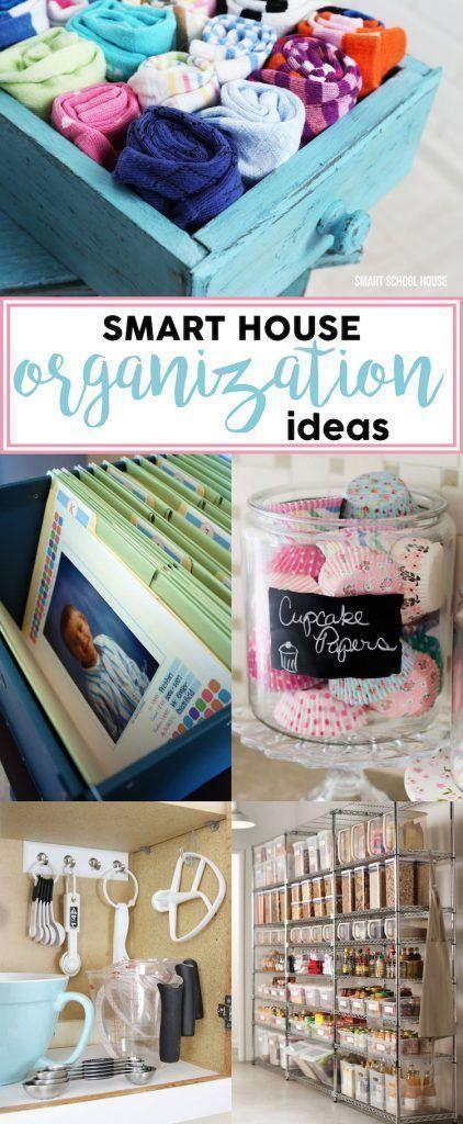 Smart House Organization Idea