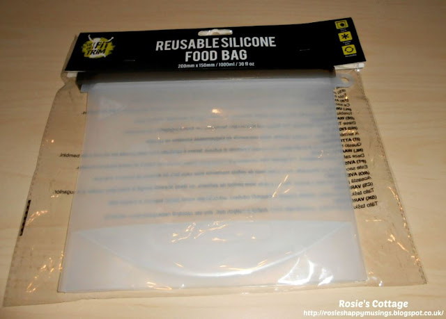 Avoiding single use plastic bags in the kitchen with reusable, silicone, zip bags. It was very disappointing that when purchased the bags are packaged in a plastic bag.