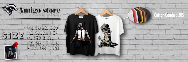 WA : 083872311458 Jual Baju Kaos Gamer Pubg Free Fire Mobile Legend