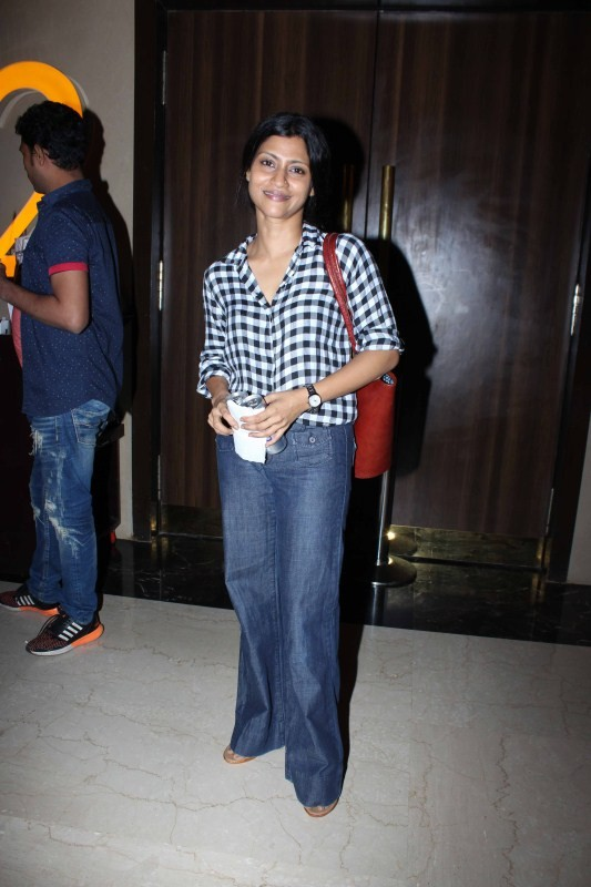 Aditi Rao Hydri And Konkana Sen Sharma spotted at Juhu PVR