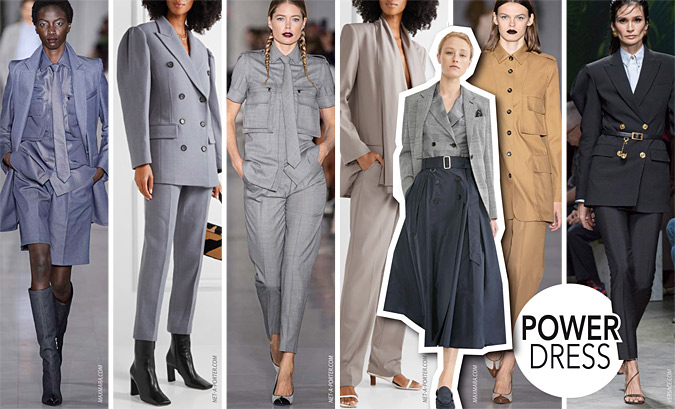 modne garnitury damskie 2020