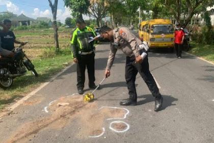 2 Remaja Tabrak Truk di Mojokerto, Satu Korban Tewas di Lokasi