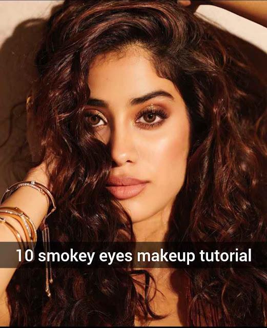 10 smokey eyes makeup tutorial