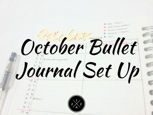October Bullet Journal Set Up