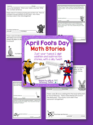 Addition and Subtraction two digit story problems
