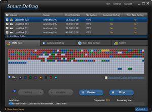 IObit SmartDefrag Defragmenter