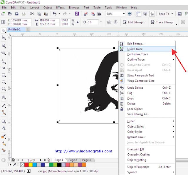 Cara Membuat Foto Bergaya Pop Art di  Corel Draw X7