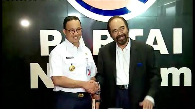 Sudah Dianggap Adik oleh Surya Paloh, Anies Layak Pimpin Nasdem Jakarta