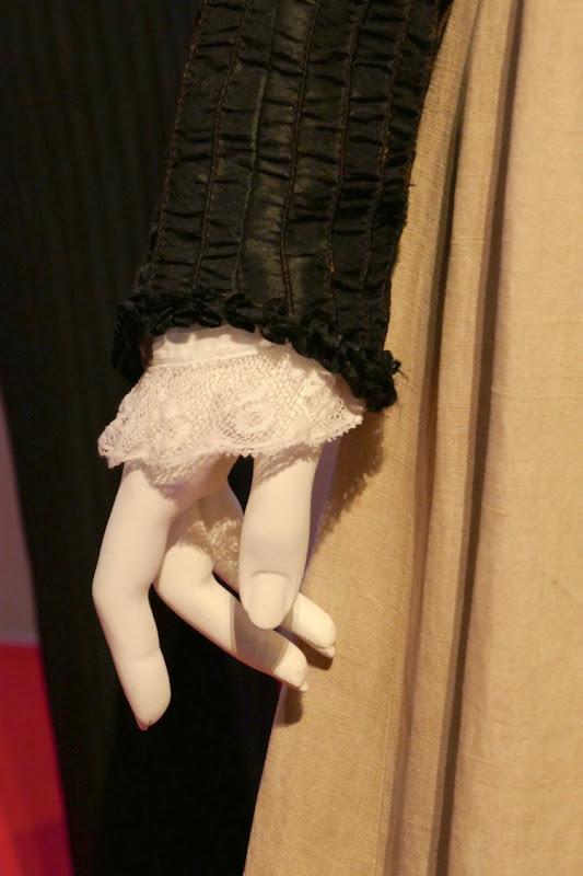 Colette movie costume detail