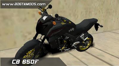 GTA SA - CB 650F 3