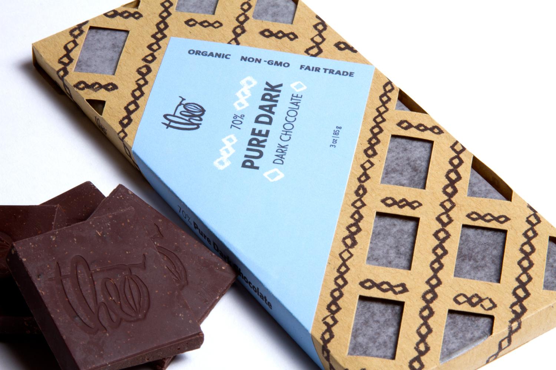 Thiết kế bao bì theo Chocolate