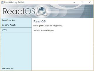 ReactOs cd