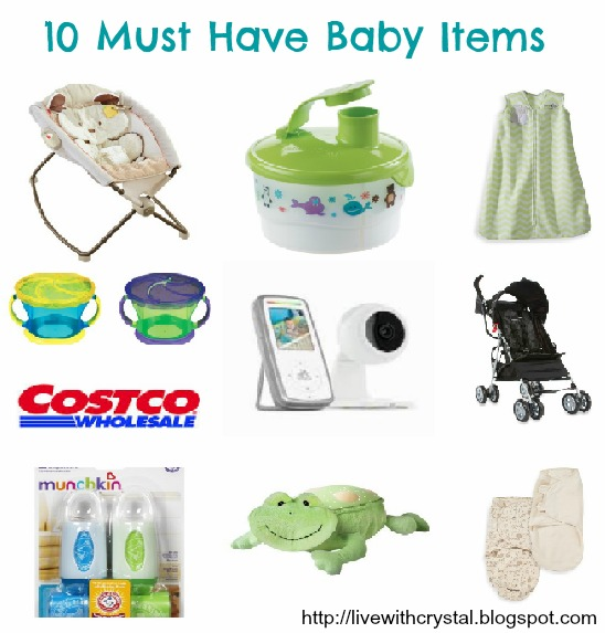 Through Crystal S Eyes 10 Must Have Baby Items
