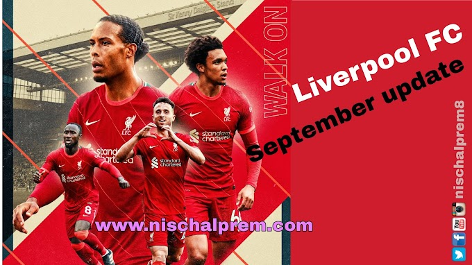 summary for the month of september for Liverpool FC