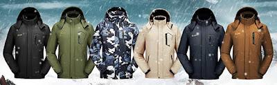 Men's Waterproof Warm Winter Snow Coat