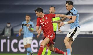 ملخص واهداف مباراة بايرن ميونخ ولاتسيو (4-1) دوري ابطال اوروبا