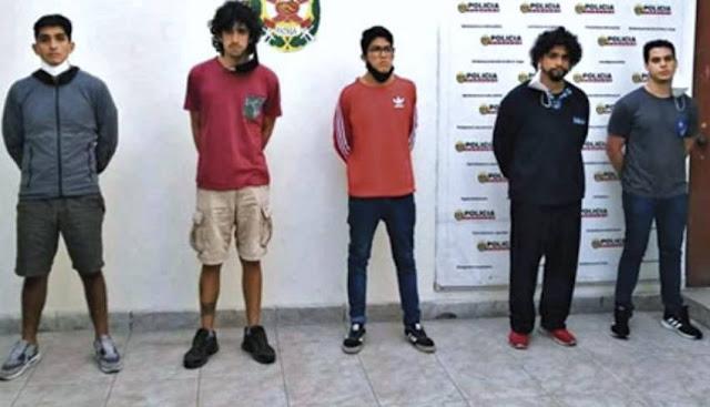 Acusados de violación pasaran 9 meses en prisión: José Arequipeño, Sebastían Zevallos, Diego Arroyo, Andrés Fassardi y Manuel Vela
