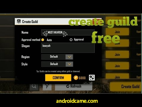 Tips Membuat Clan Atau Guild Free Fire