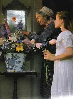 Tasha Tudor's Garden by Tovah Martin, photographed by Robert Brown as seen on linenandlavender.net, see full post:  http://www.linenandlavender.net/2012/06/flowers-in-profusion-tasha-tudors.html