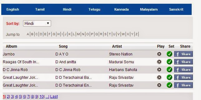 Aircel dialer tune song list sample Dhoom movie