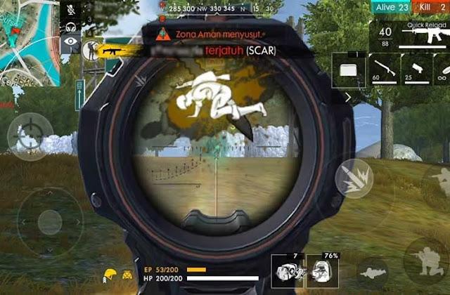 2 Cara Menembak Terbaik Game Free Fire (FF) Yang Sangat Canggih