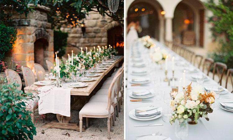 Marzua ideas para la decoraci n de bodas al aire libre for Decoracion de casa quinta para casamiento