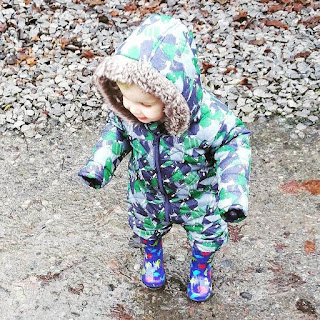 Puddle jumping at Bluestone Wales