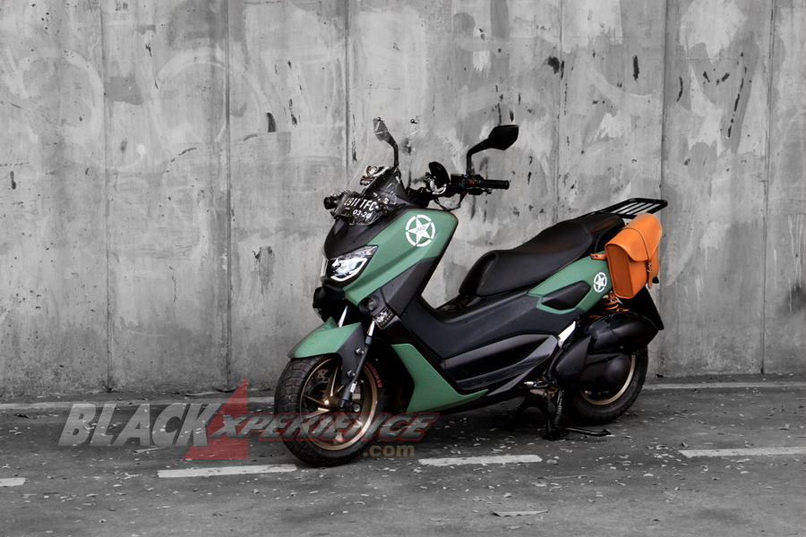 Hasil modifikasi Yamaha Nmax