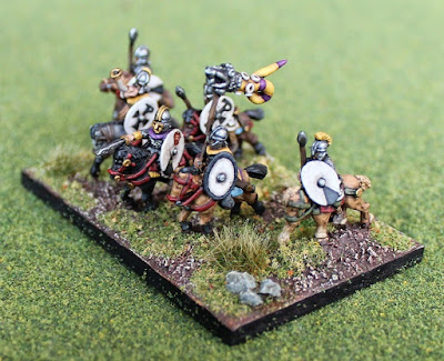 Joint 2nd place: Late Roman cavalry, by streetgang - wins £5 Pendraken credit!