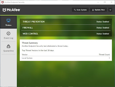 McAfee Endpoint Security 10.6.1.1386.8 Preactivated