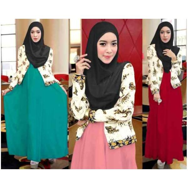 Kumpulan baju muslim gamis untuk remaja model terbaru saat Baju gamis model terbaru untuk remaja