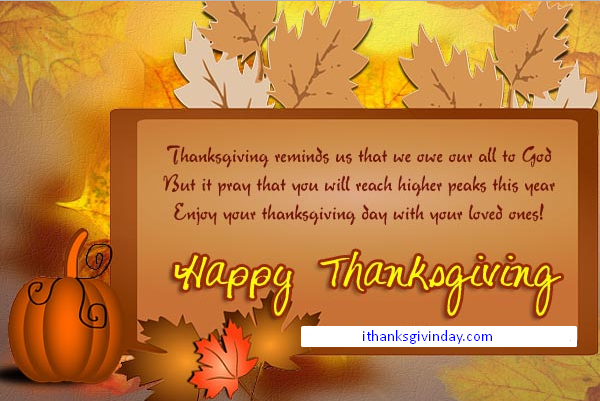 happy thanksgiving wishes by ithanksgivingday.com